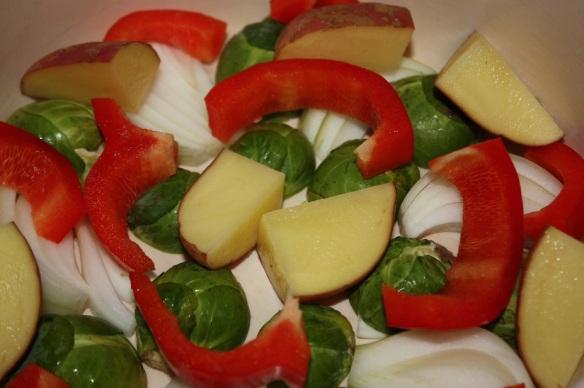 Ferdigkutta grønnsaker